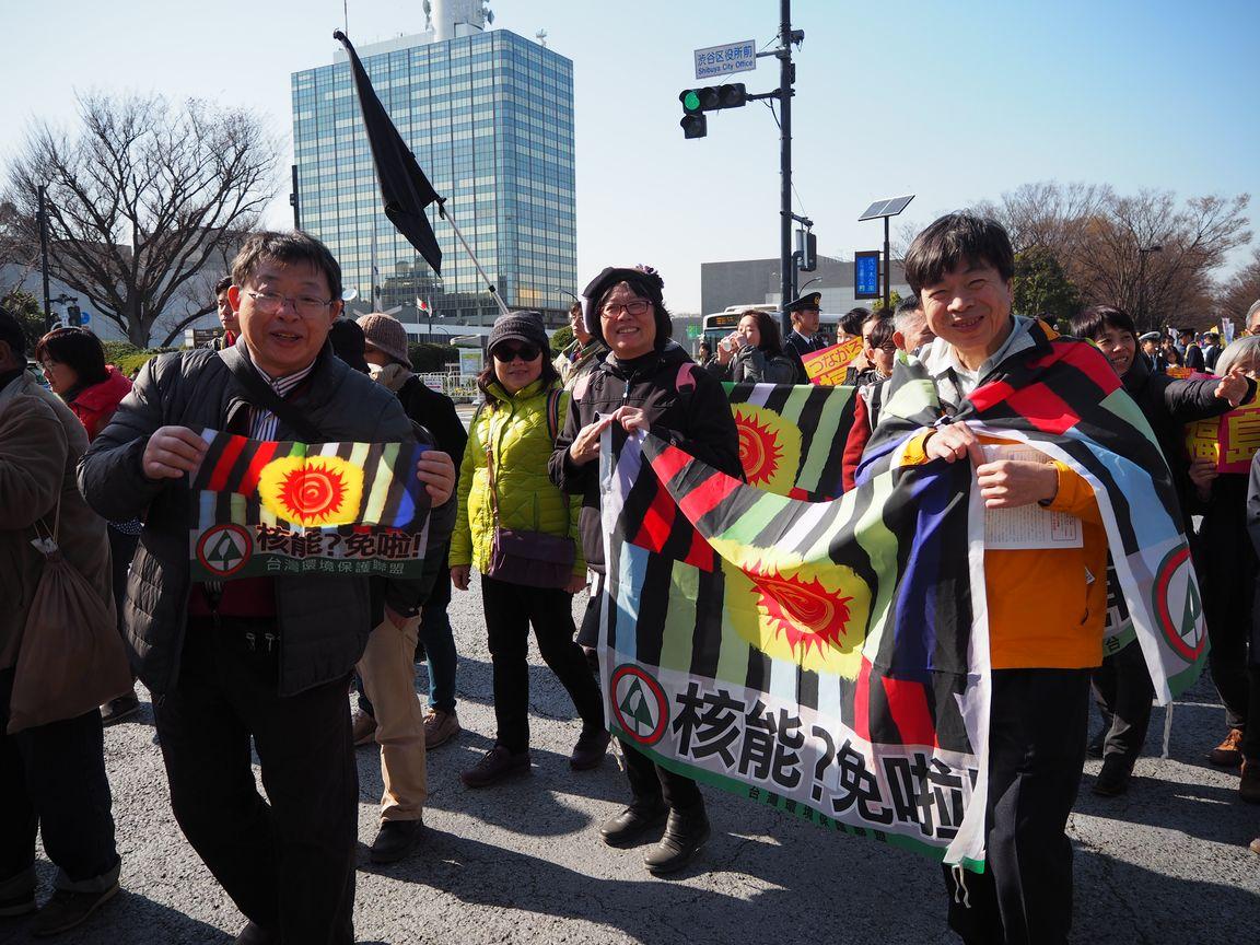 台湾の参加者たち