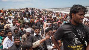 2012年9月9日、3万人の抗議行動