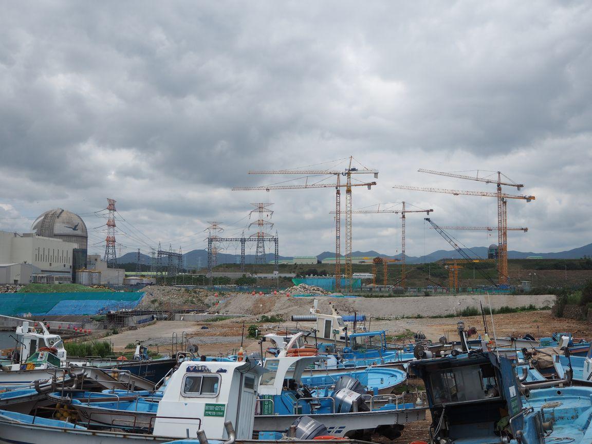 建設中の新コリ核電5,6号機