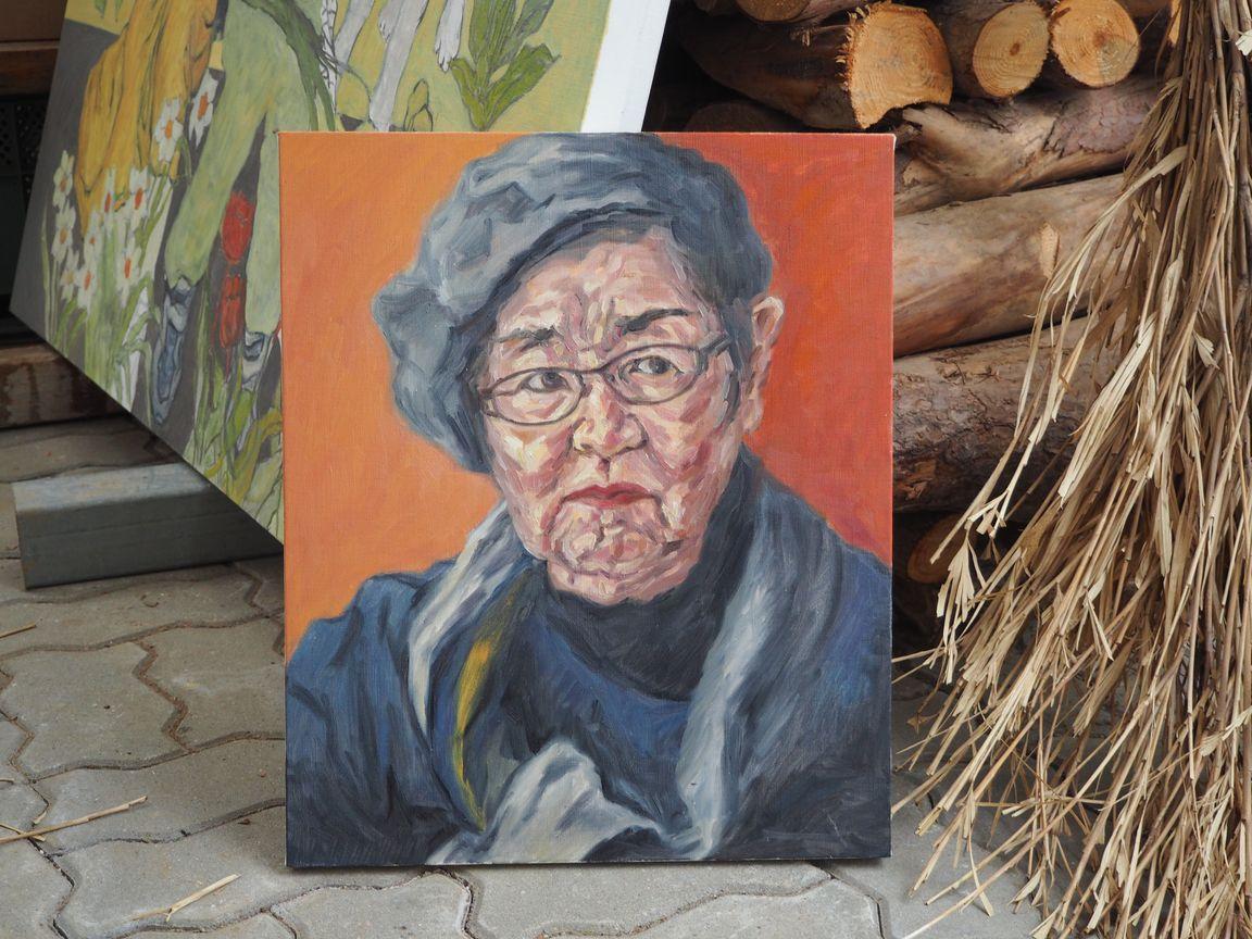 水戸喜代子さんの肖像画